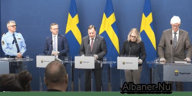 Ndalohen grumbullimet me mbi 50 persona në Suedi