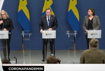 Konferenca për shtyp e Kryeministrit Stefan Löfven