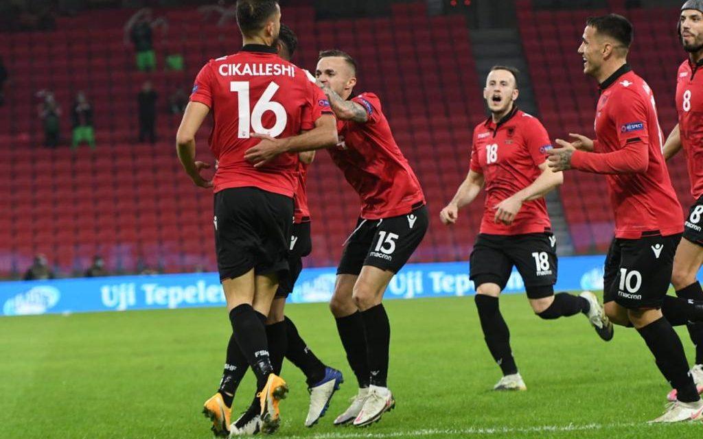 """Shqipëria e para në grup """"Shqipëri 3-2 Bjellorusi"""