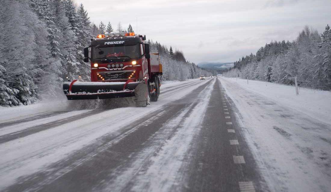 Reshje të mëdha dëbore në veri – rrezik i ingranazheve